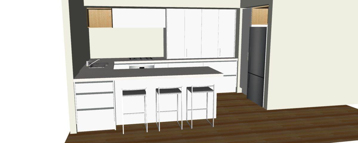 3D Kitchen Design | Jaquie Brown