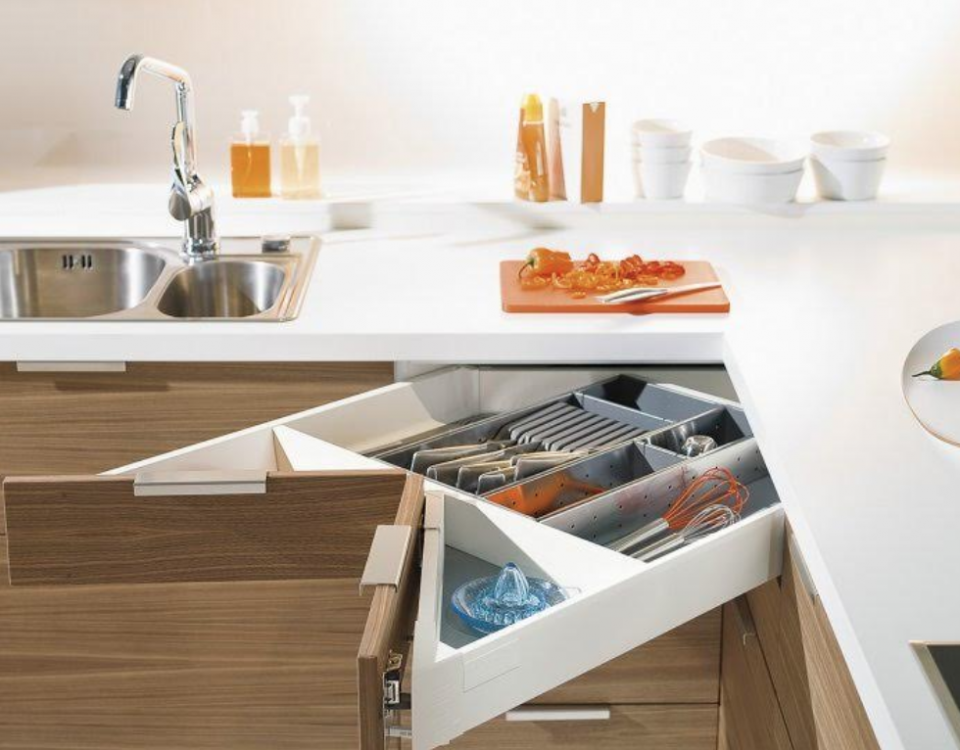 Blum Kitchen Corner Drawers