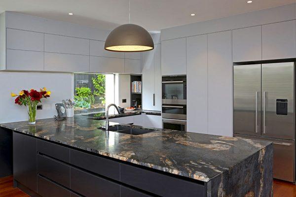 engineered stone benchtop kitchen design element to inspire
