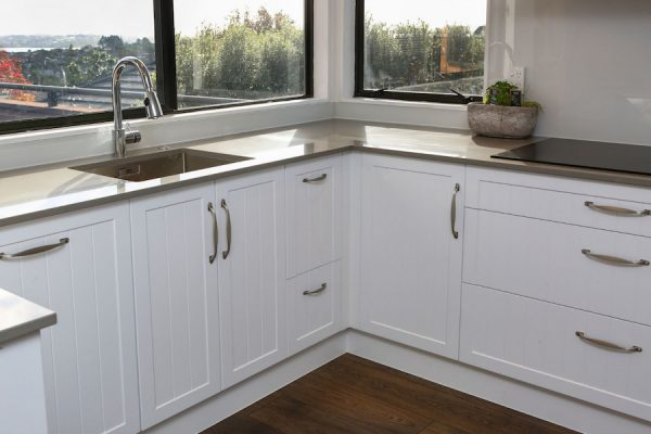 Classic white cabinetry with Jag Kitchens
